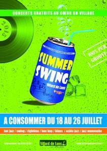 Affiche summer swing 2015