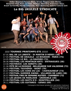 dates tournée bus